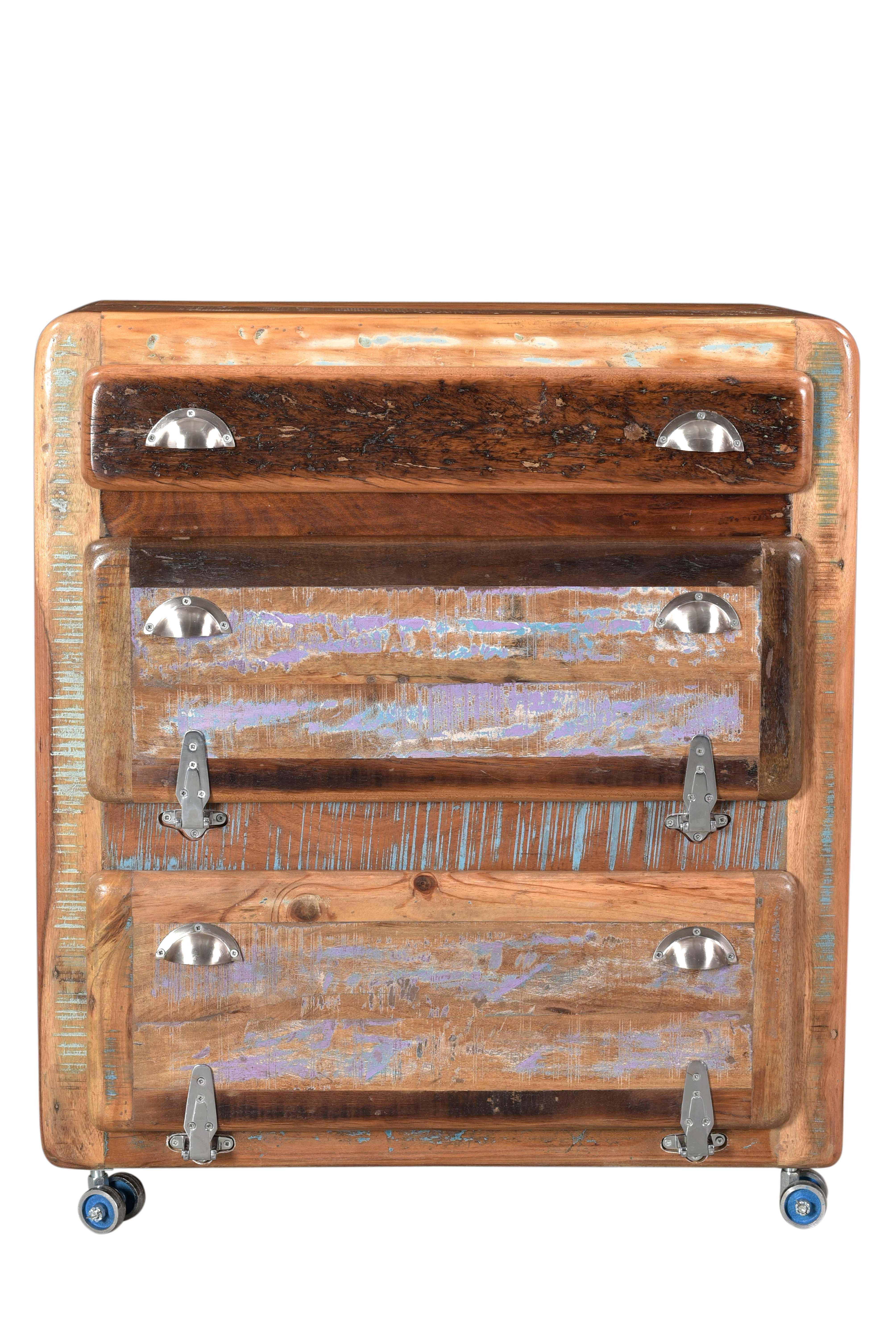 Sit Fridge Schuhschrank aus recyceltem Holz