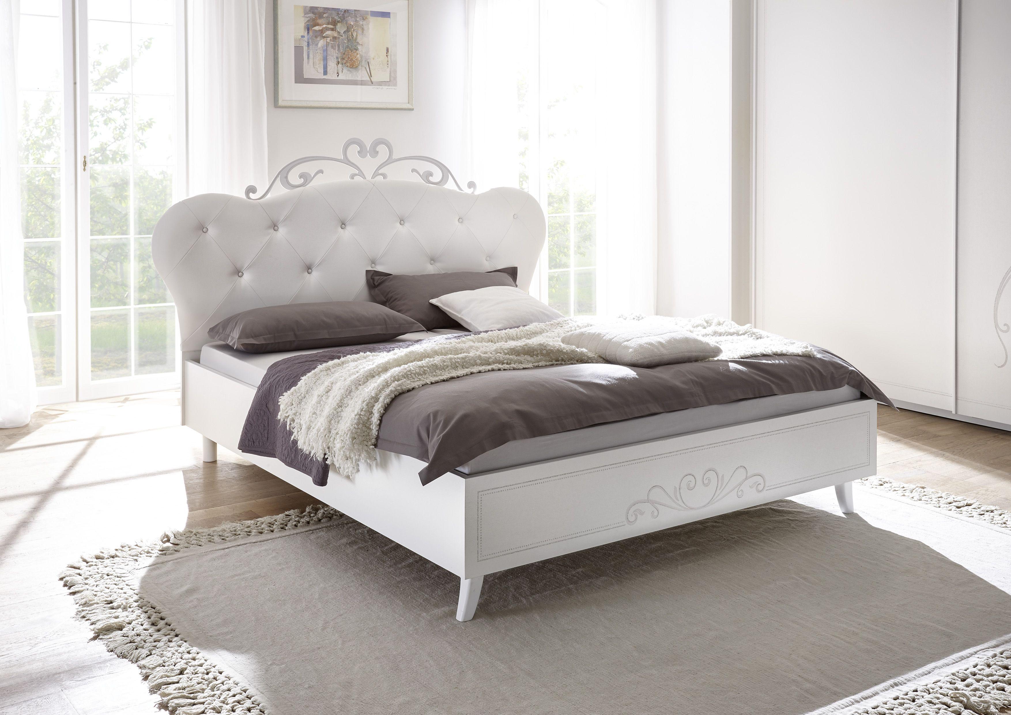 Sertis Schlafzimmer-Set 4-teilig in Weiß Melamin