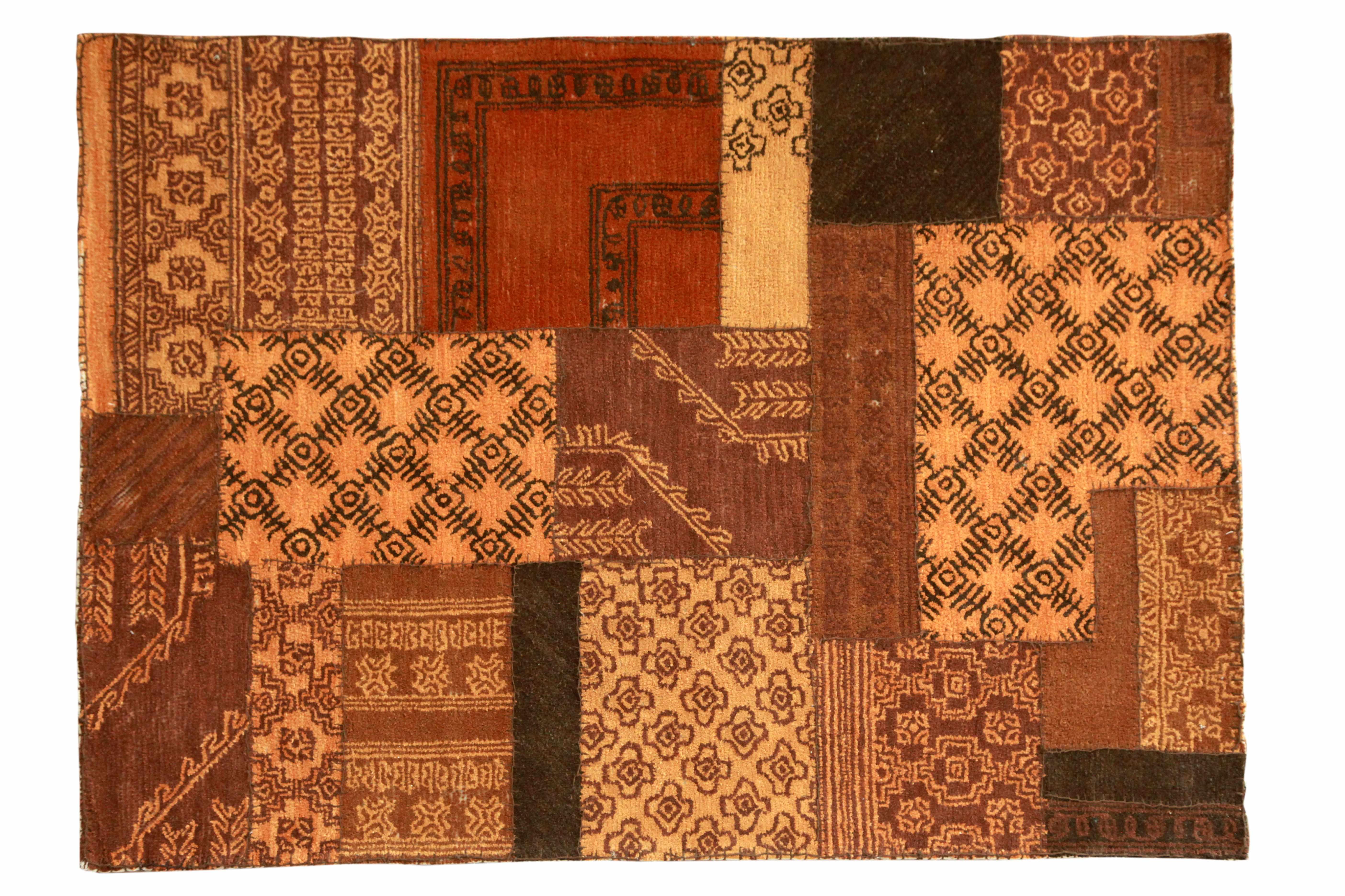Teppich Braun Minor aus Wolle