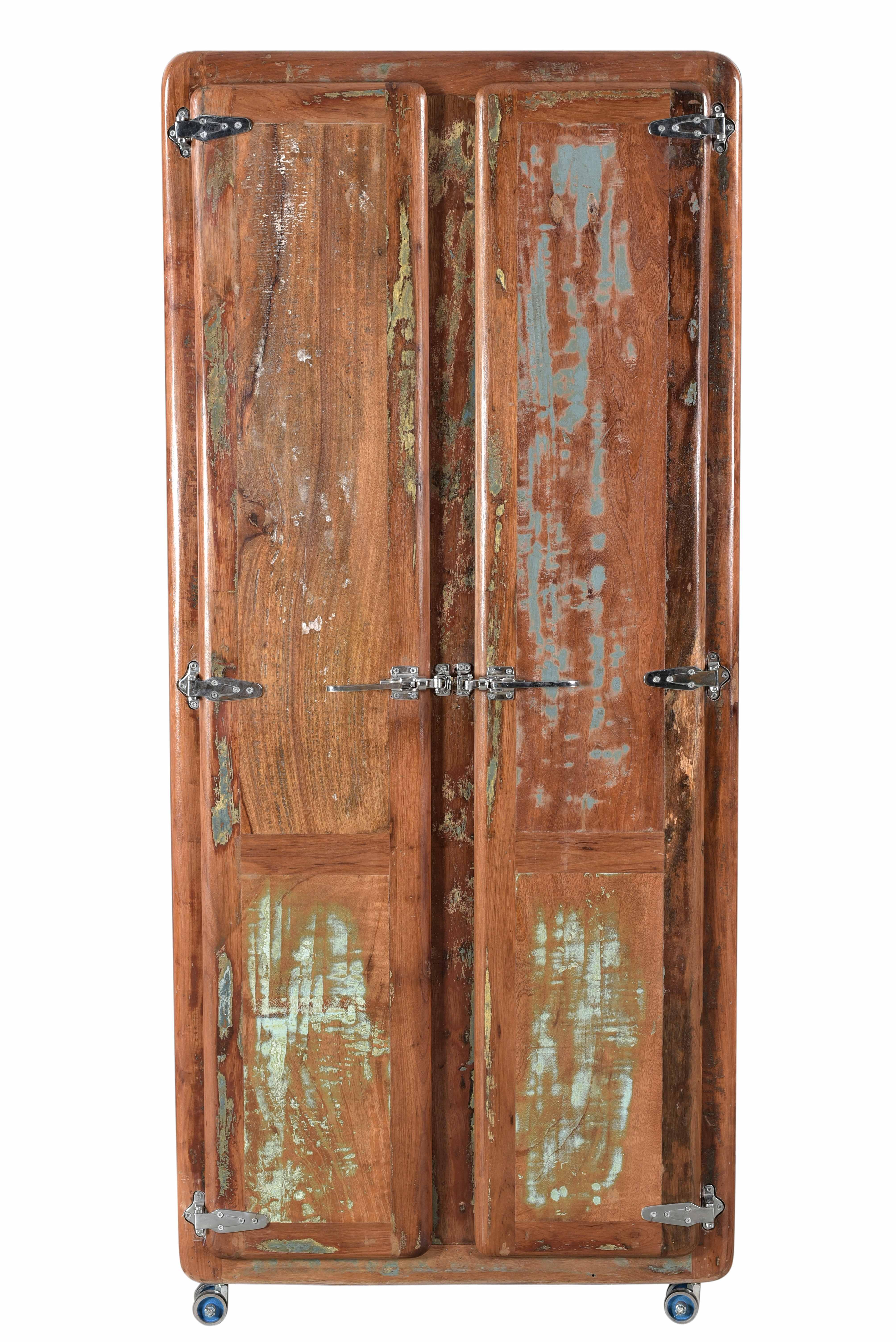 Sit Fridge Garderobenschrank Altholz 2-türig