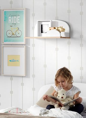 Kid Wandregal Rosa 45x25x22