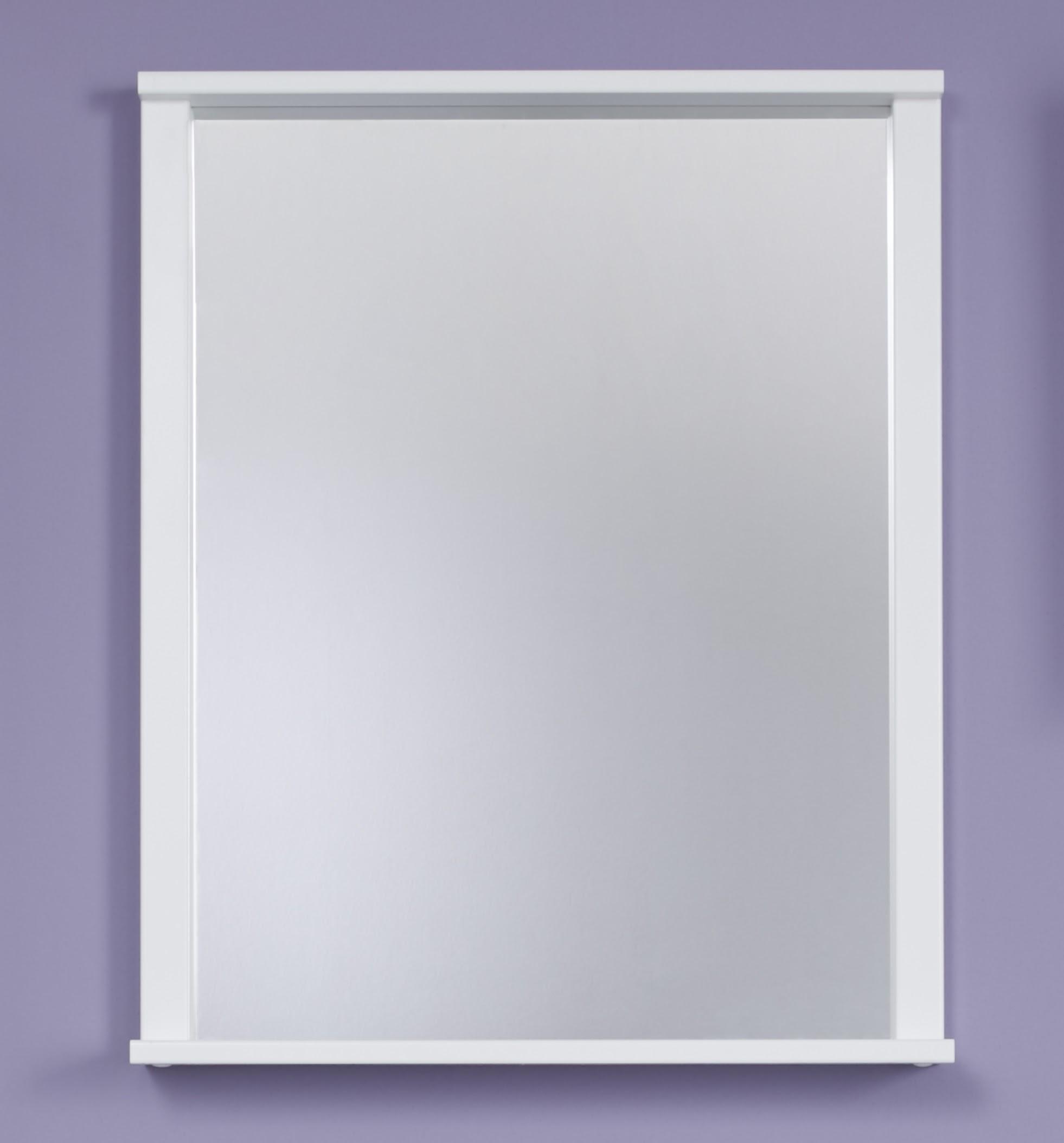 Spiegel Lima mit Ablage in Weiß