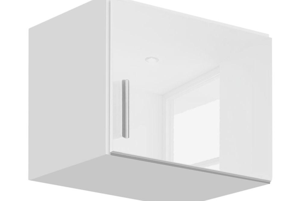 Schrankaufsatz CELLE weiß / alpinweiß 47 x 39 x 54 cm rechts