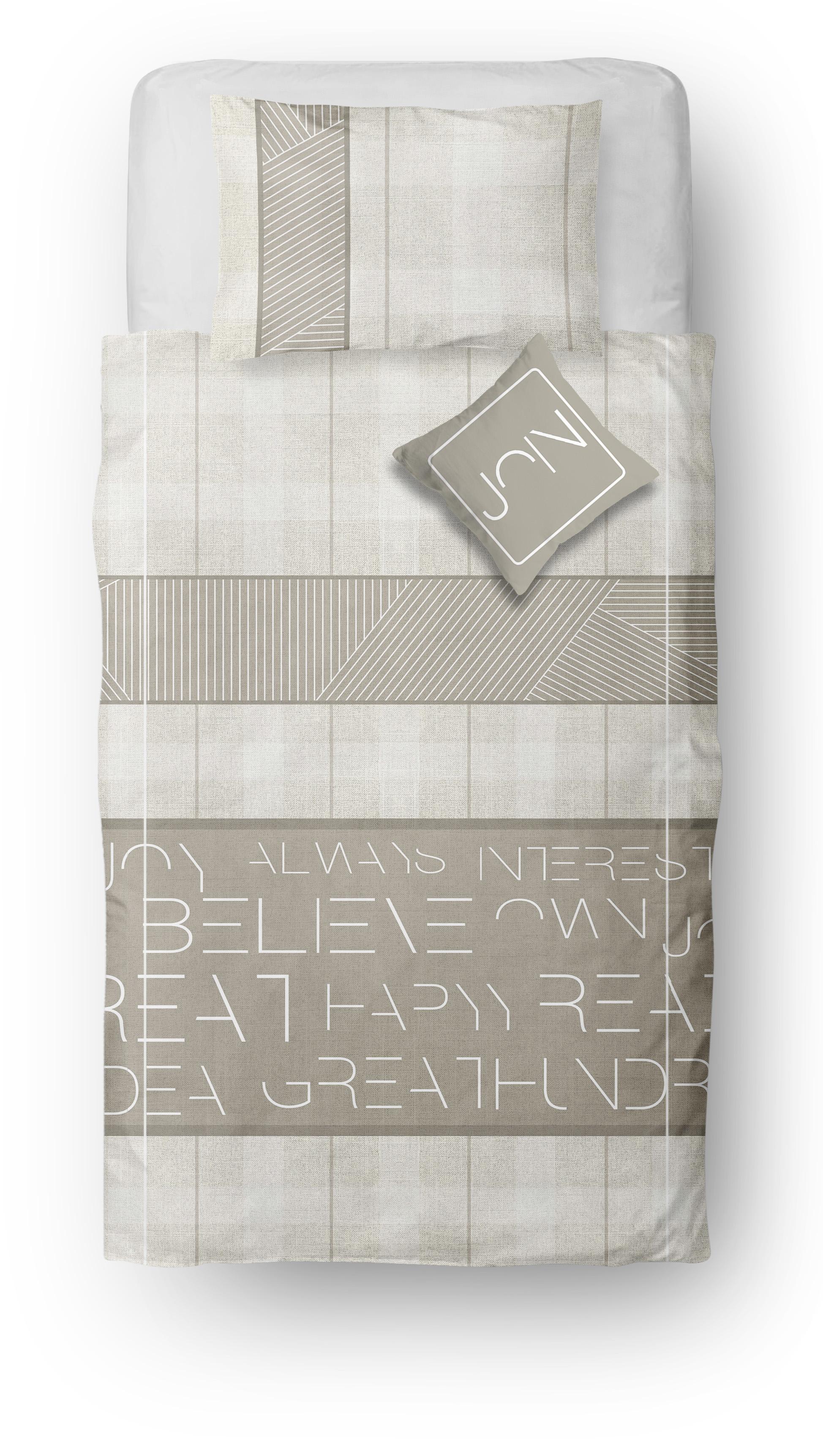 Almila Bettwäsche Set Monte 160x230 cm