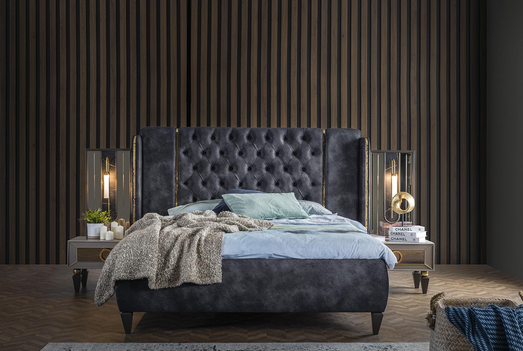 Weltew Schlafzimmer mit Stauraumbett 160x200 Lizbon