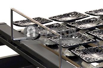 Lattenrost Sandy mit Kipptellern motorisch verstellbar 100x190cm