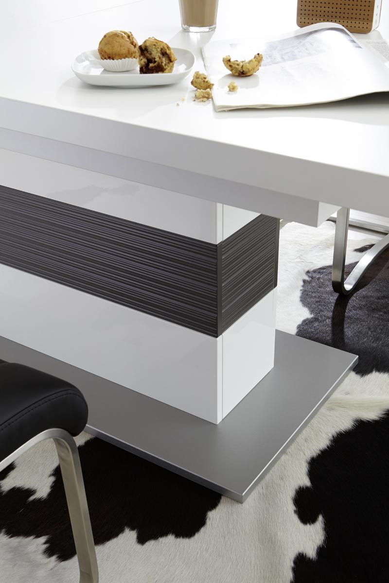 Esszimmertisch Fillipe 180x100 ausziehbar Weiß