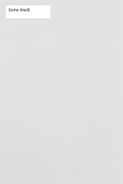 Schwebendes Bett Rielle Breit 140x190 Eiche Weiß