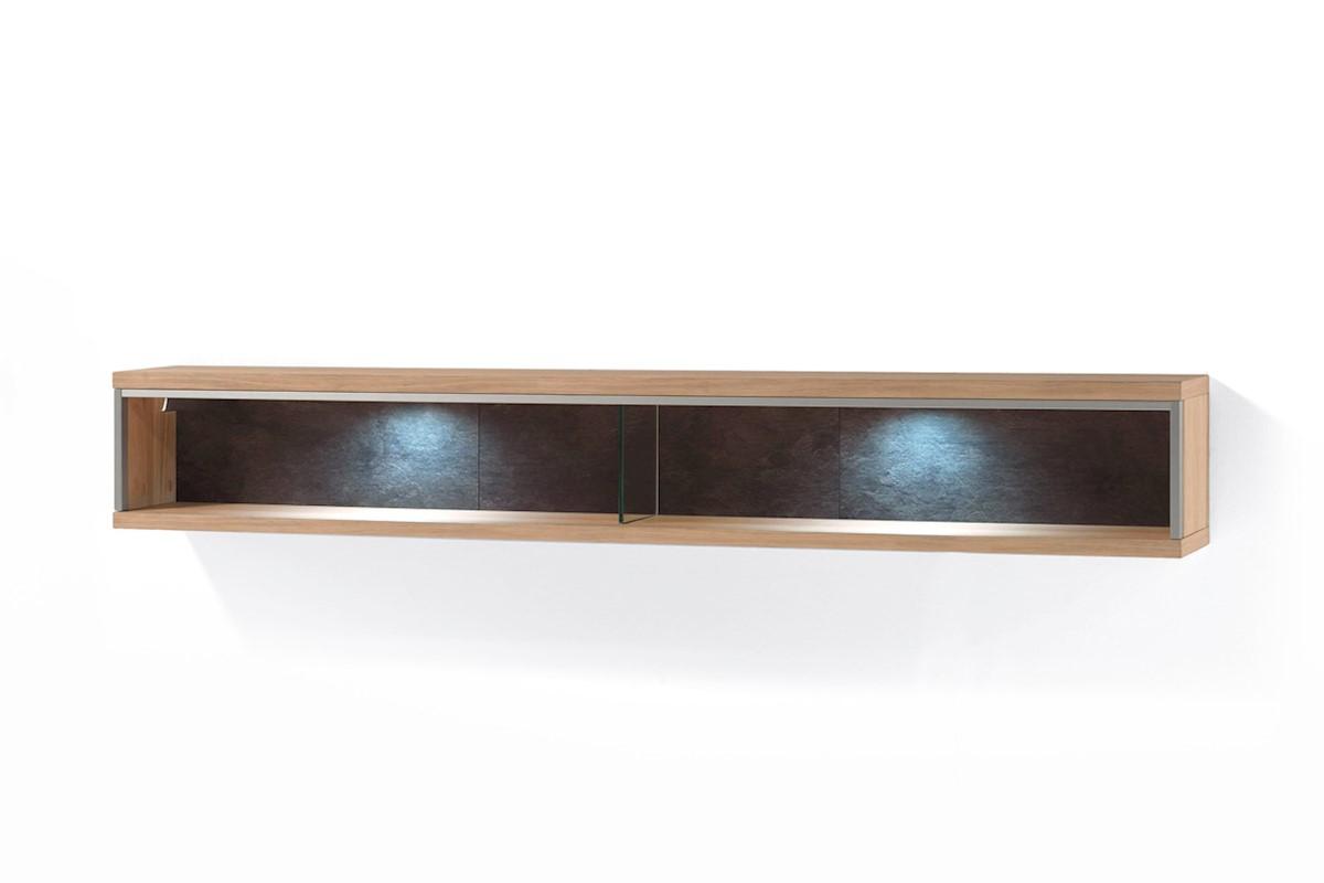 Wohnwand Meja 3-teilig Highboard links