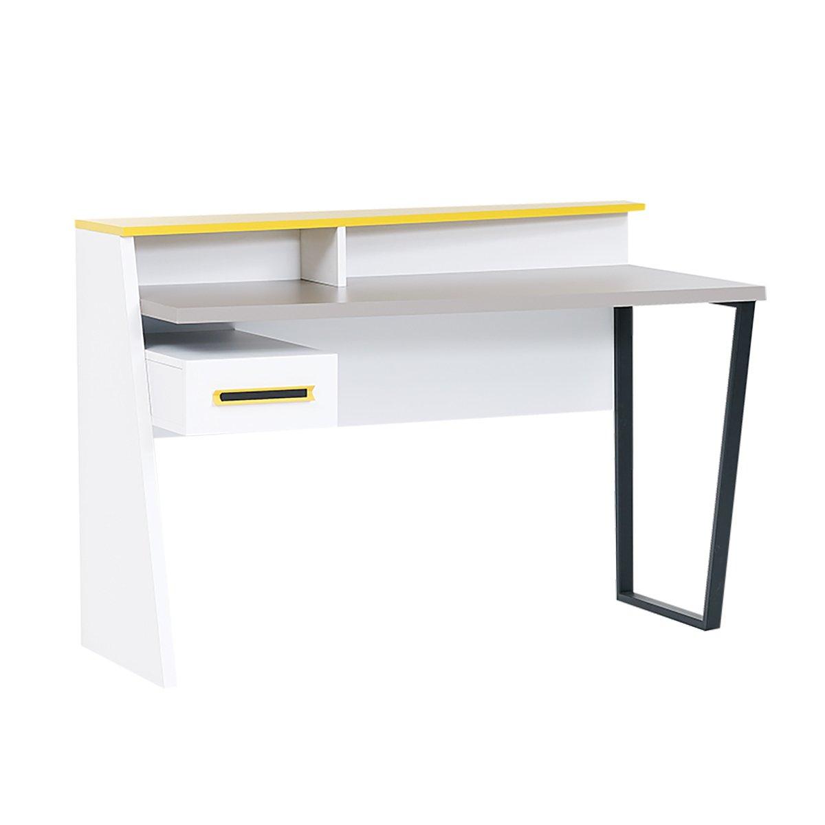 Almila Design Schreibtisch Vector mit Schubfach