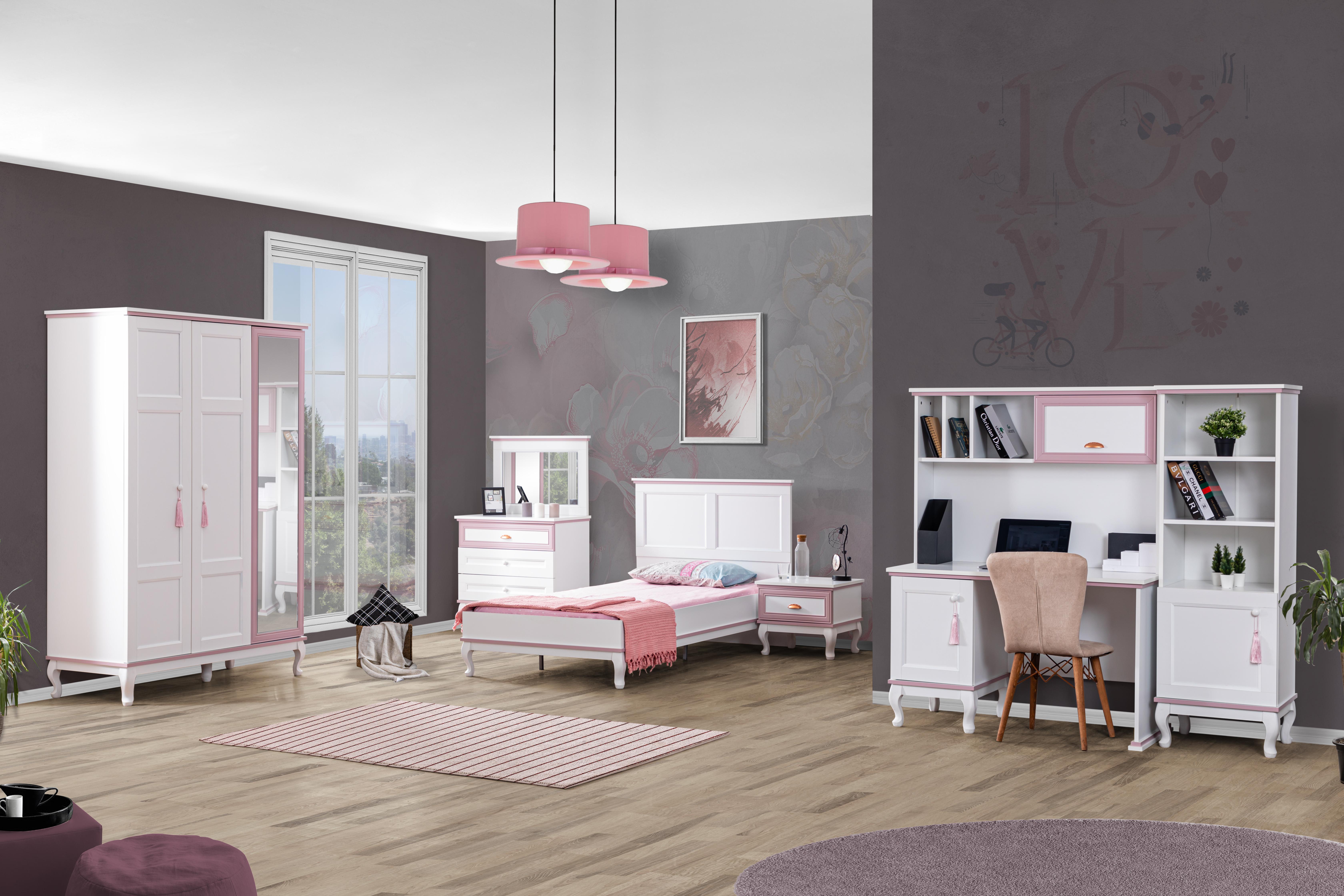 Odacix Jugendzimmer Set komplett Lilyum 6-teilig