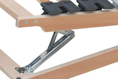 7 Zonen Lattenrost Rolly Kopf- und Fußteil verstellbar 100x190cm
