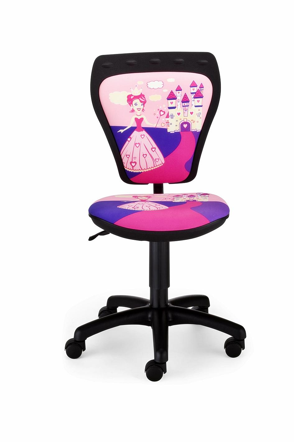 Kinder-Drehstuhl mit Prinzessin Motiv