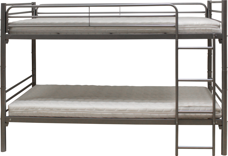 Parsi Etagenbett 90x200 mit 2 Metallrosten