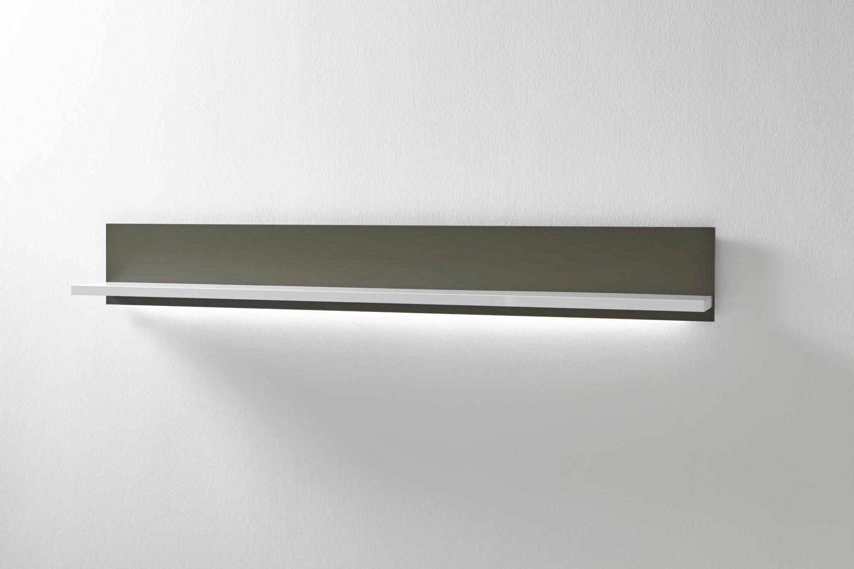 Wandboard Fillipe Weiß 184x25x23