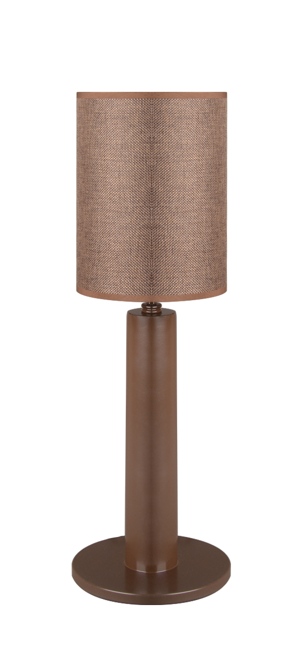 Almila Tischlampe Monte Braun in modernem Design