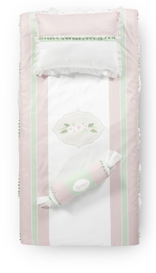 Almila Kinderbettwäsche Bianca 3-teilig für 120x200