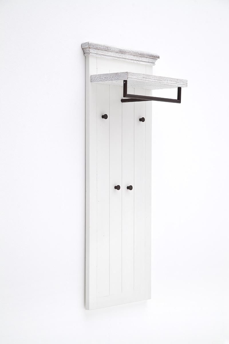 Olio Garderobenserie 4-teilig in Kiefer Weiß/Sand