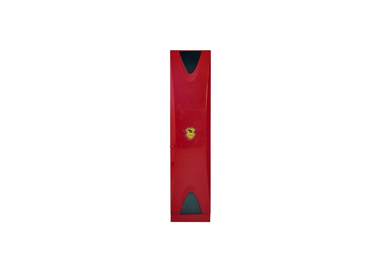 Titi Anstellschrank Cat Garage 1-türig in Rot