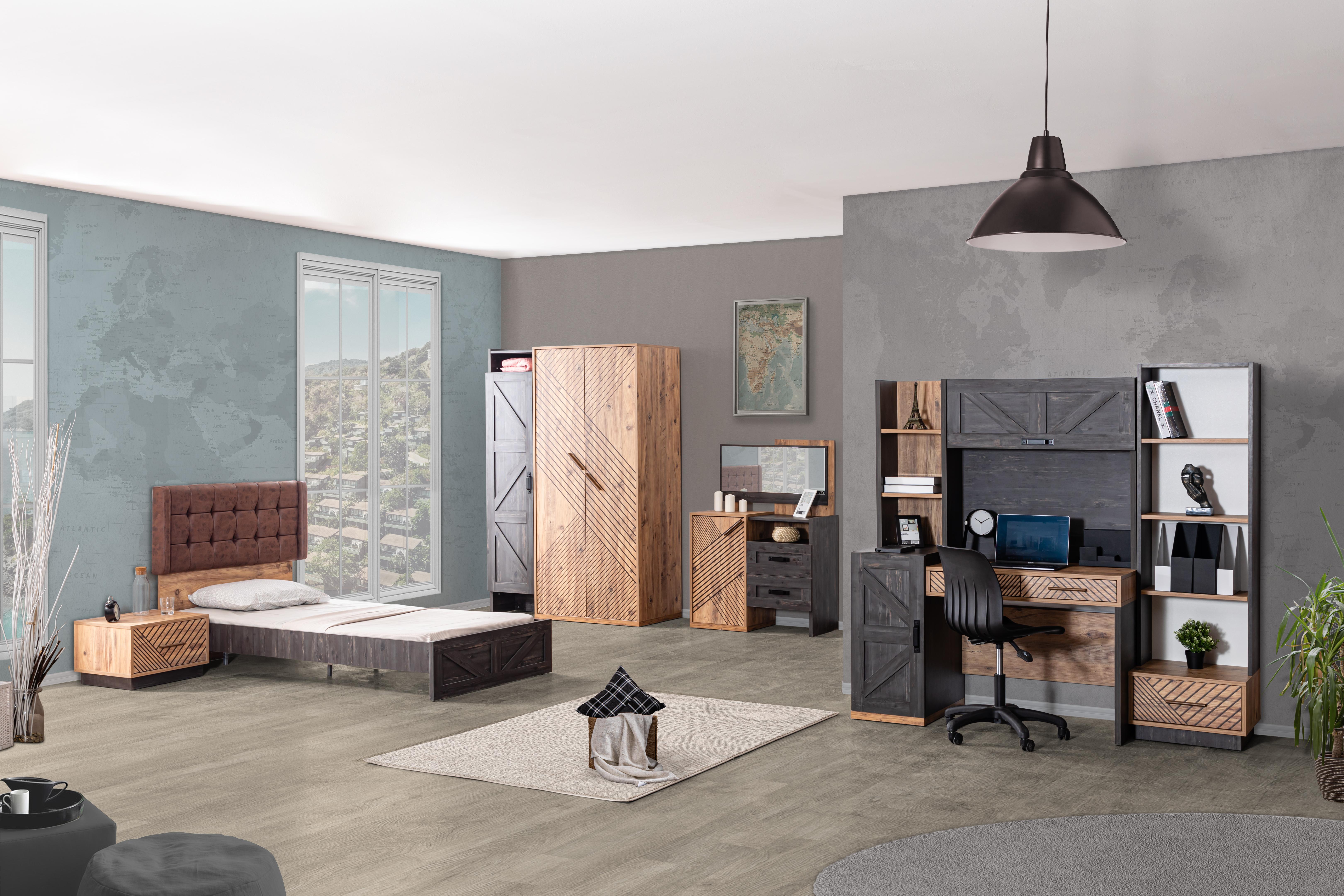 Odacix Jugendzimmer komplett Set Atlantik 6-teilig