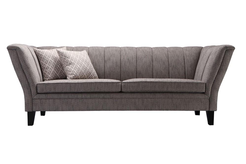 Sofa SIT4Sofa grau 228 x 90 x 82 cm