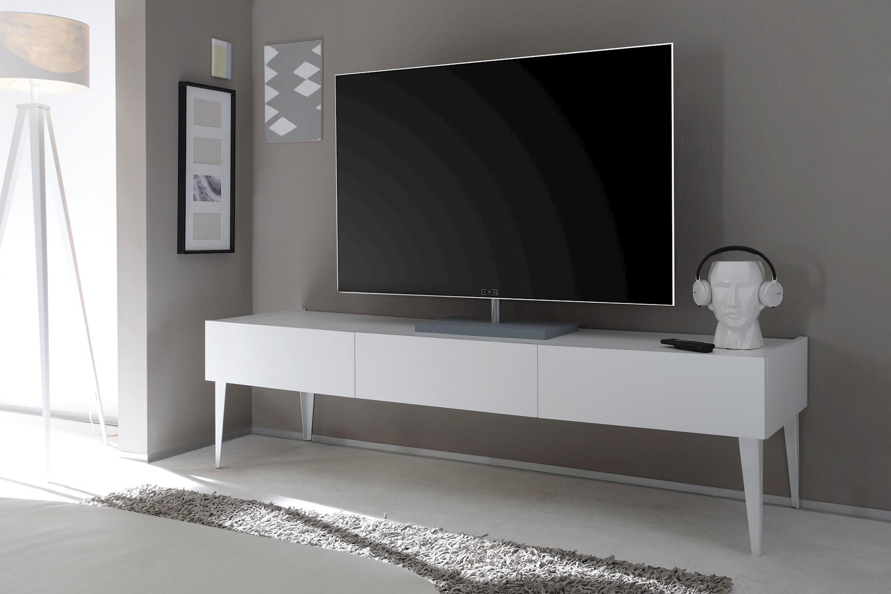 TV-Unterschrank Bloom in Weiß