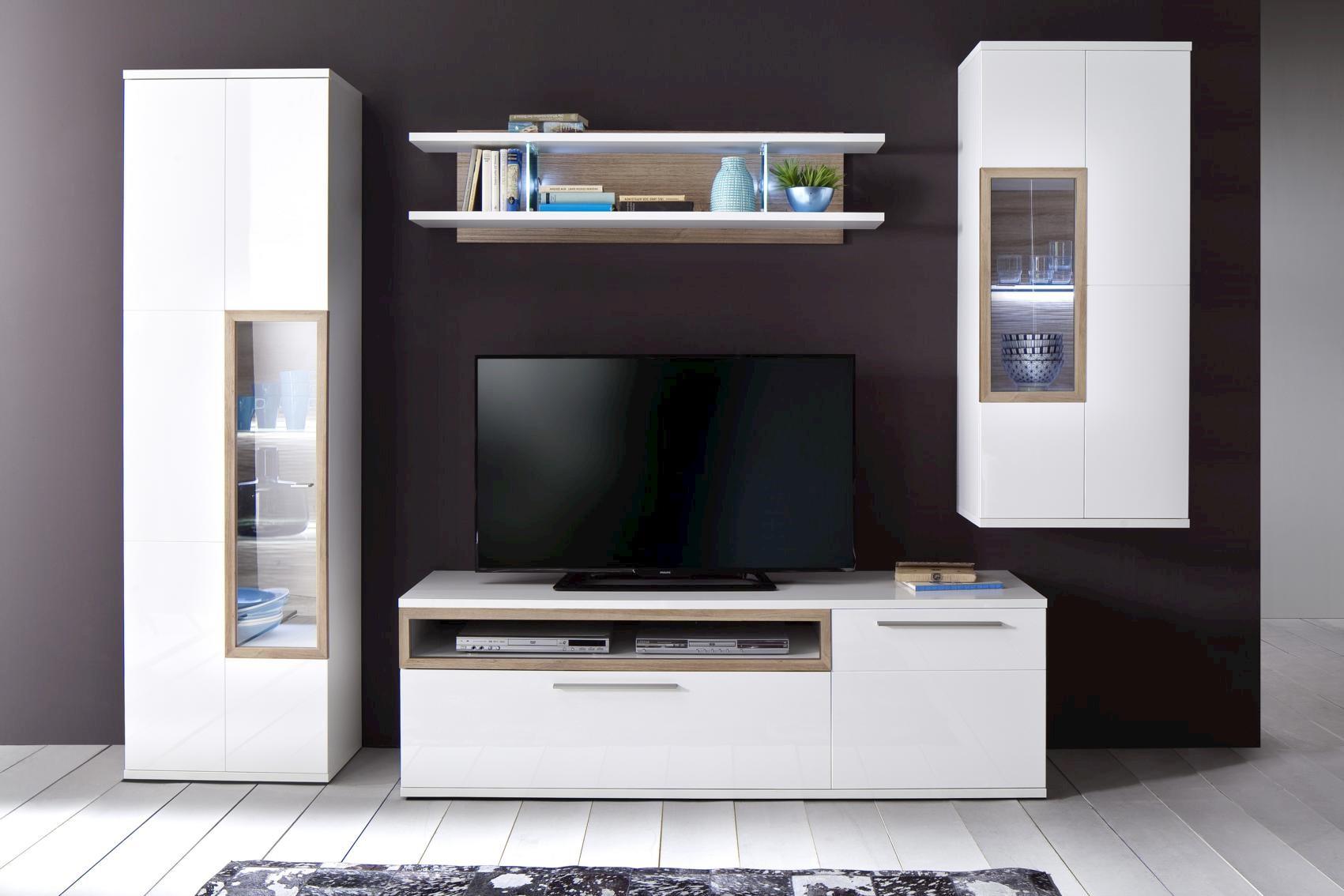 Pala TV-Unterschrank Weiß 180x57x50