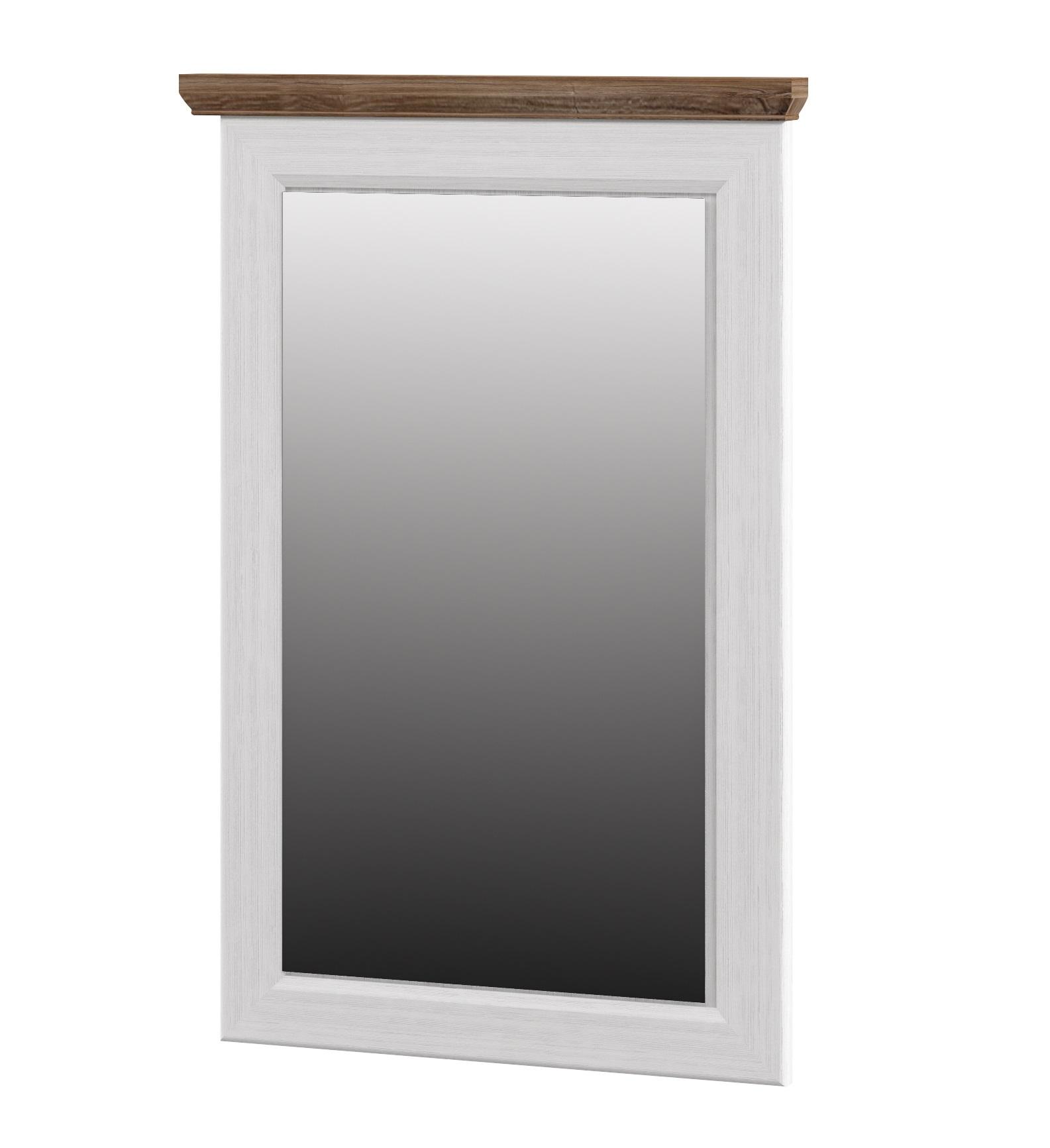 Neman Wandspiegel Tivoli 64x96 cm Landhausstil Weiß