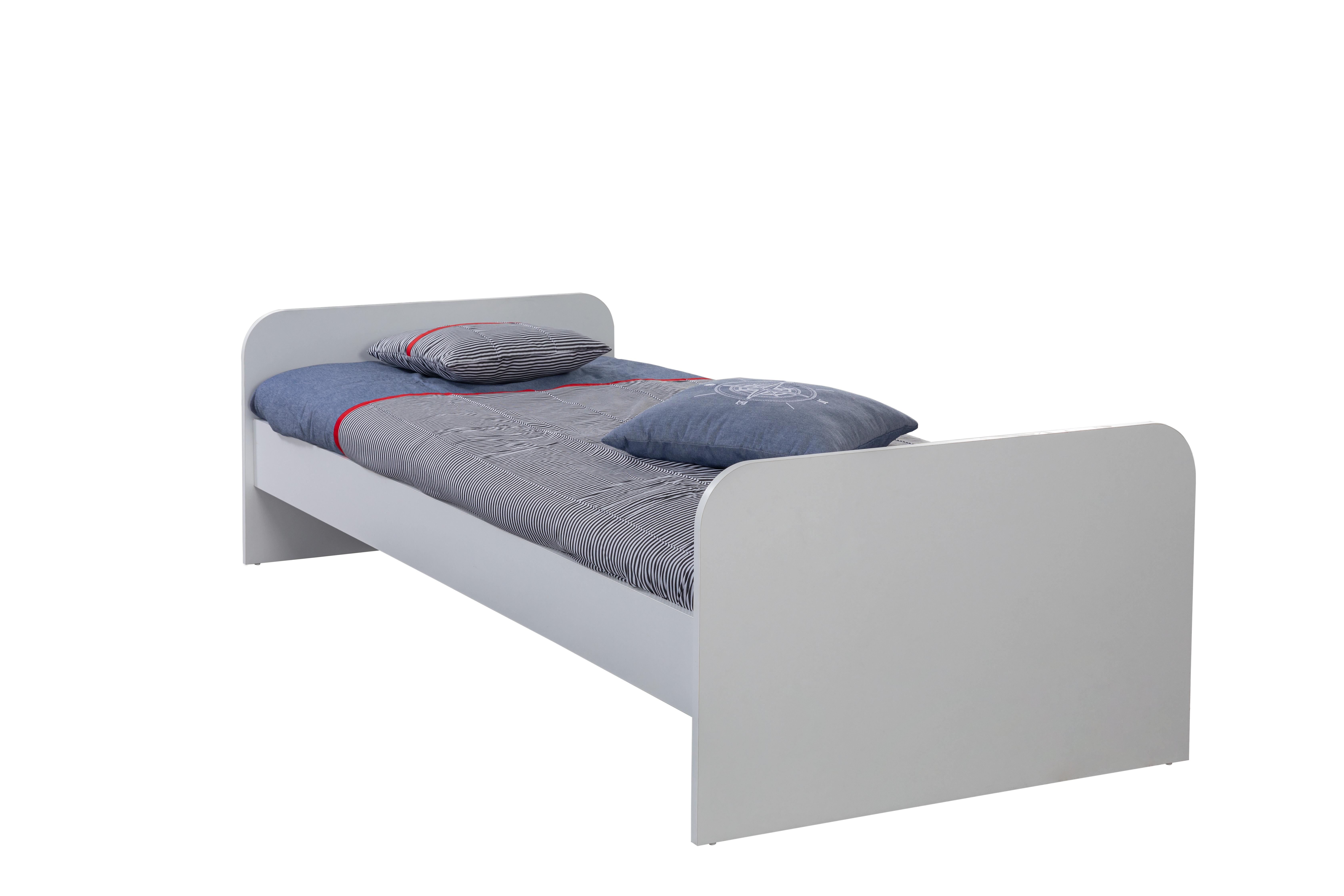 Titi Einzelbett Trio 90x190 cm Weiß