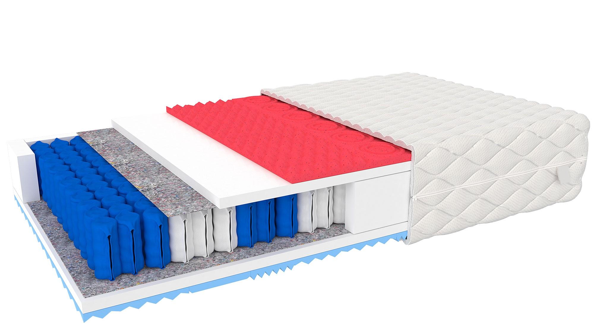 Angel Foam Taschenfederkern Matratze Venci 80x200