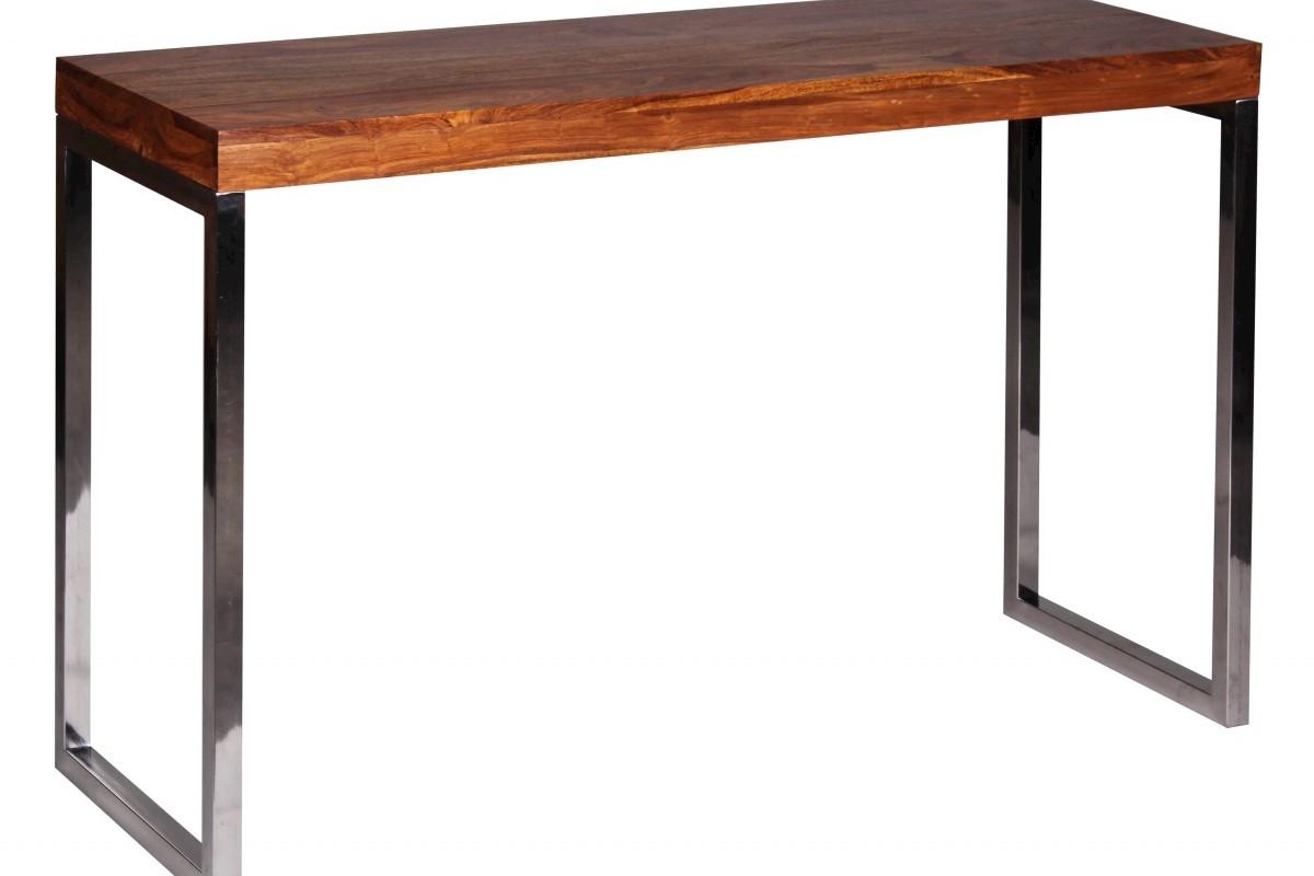 Exklusiver Massivholz Konsolentisch 120 x 45 x 76 cm Tisch Sheesham Massiv