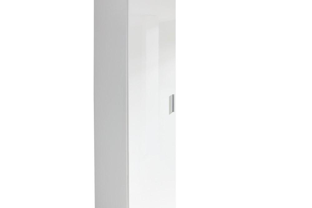 Drehtürenschrank CELLE weiß / alpinweiß 47 x 210 x 54 cm