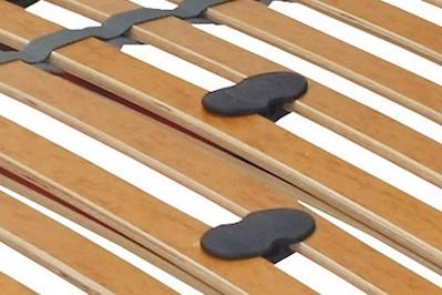 7 Zonen Lattenrost Rolly mit 28 Federleisten 90x200cm