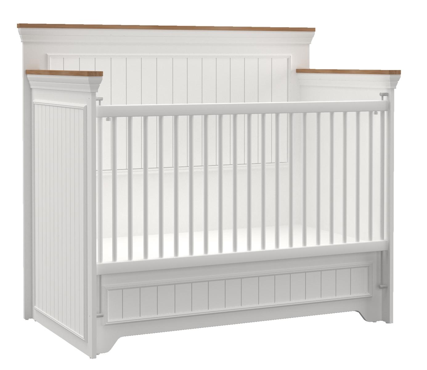 Almila Gitterbett Baby Monte 70x130 cm Creme