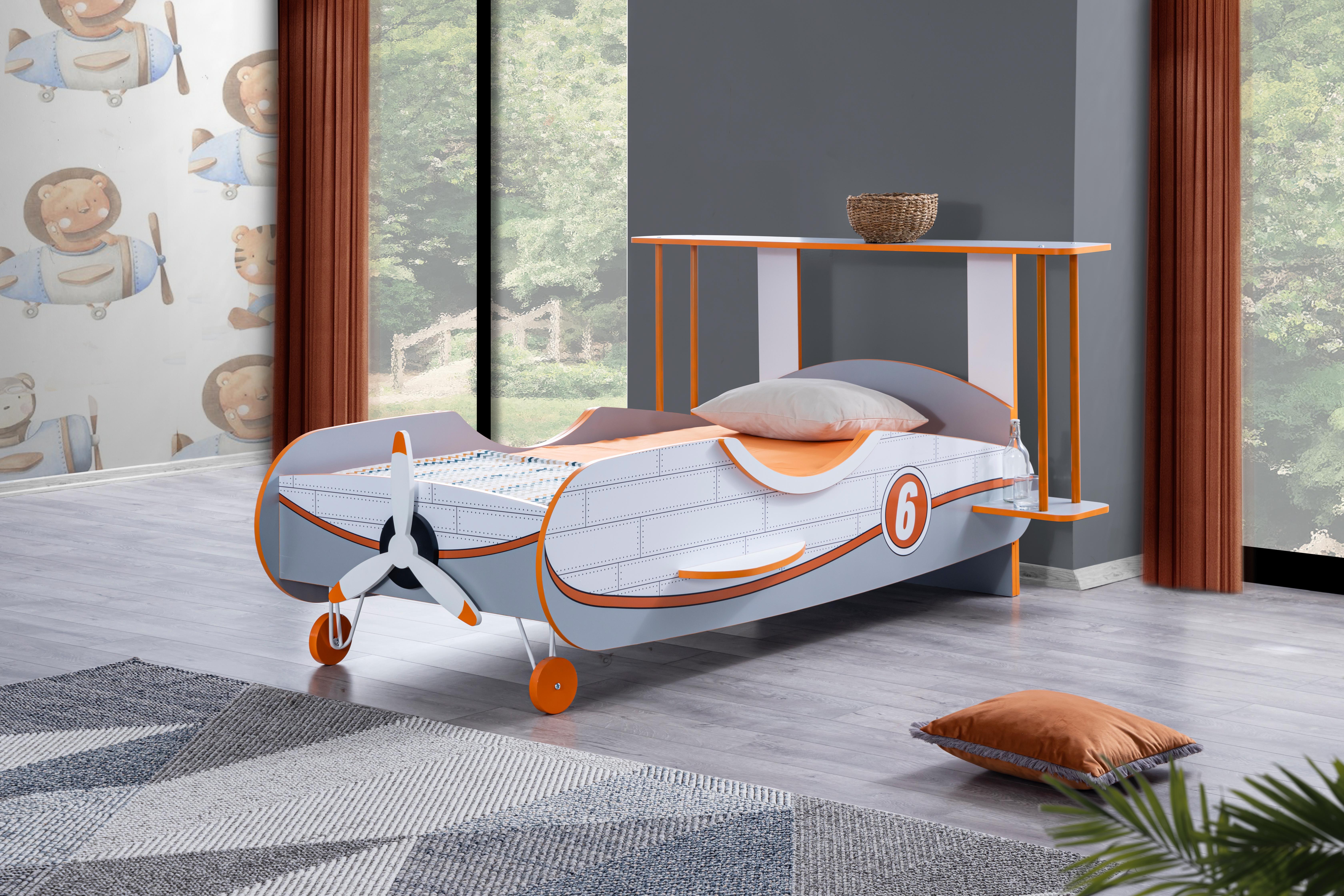 Odacix Kinderbett Planör Flugzeug