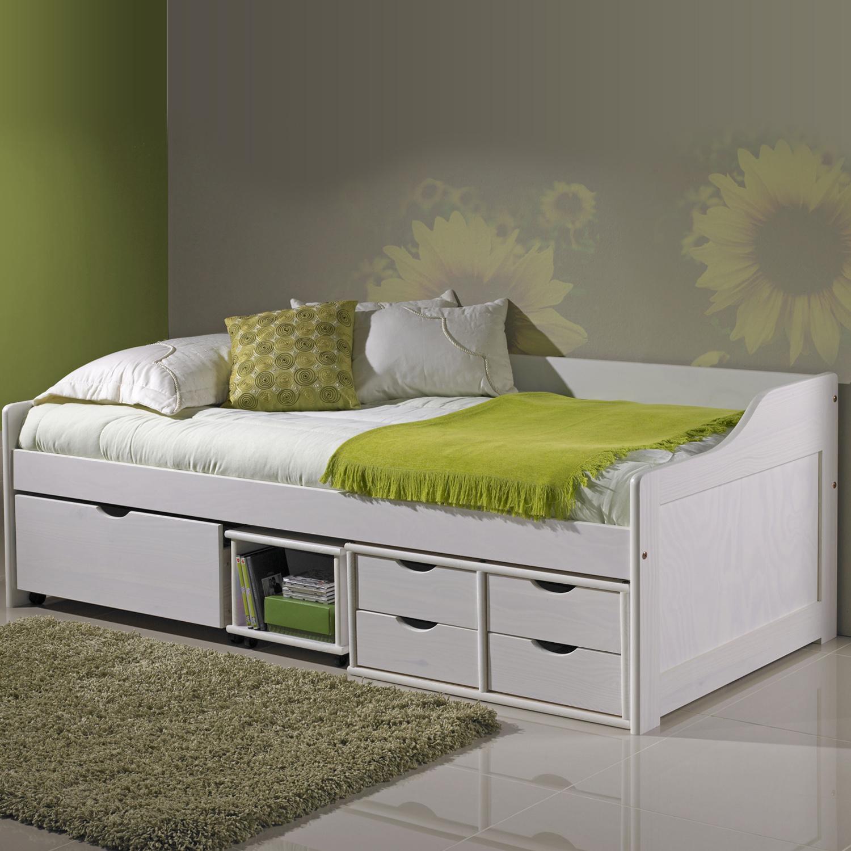 Doli Sofabett 90x200 mit Lattenrost Weiß