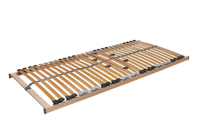 7 Zonen Lattenrost Rolly mit 28 Federleisten 90x190cm