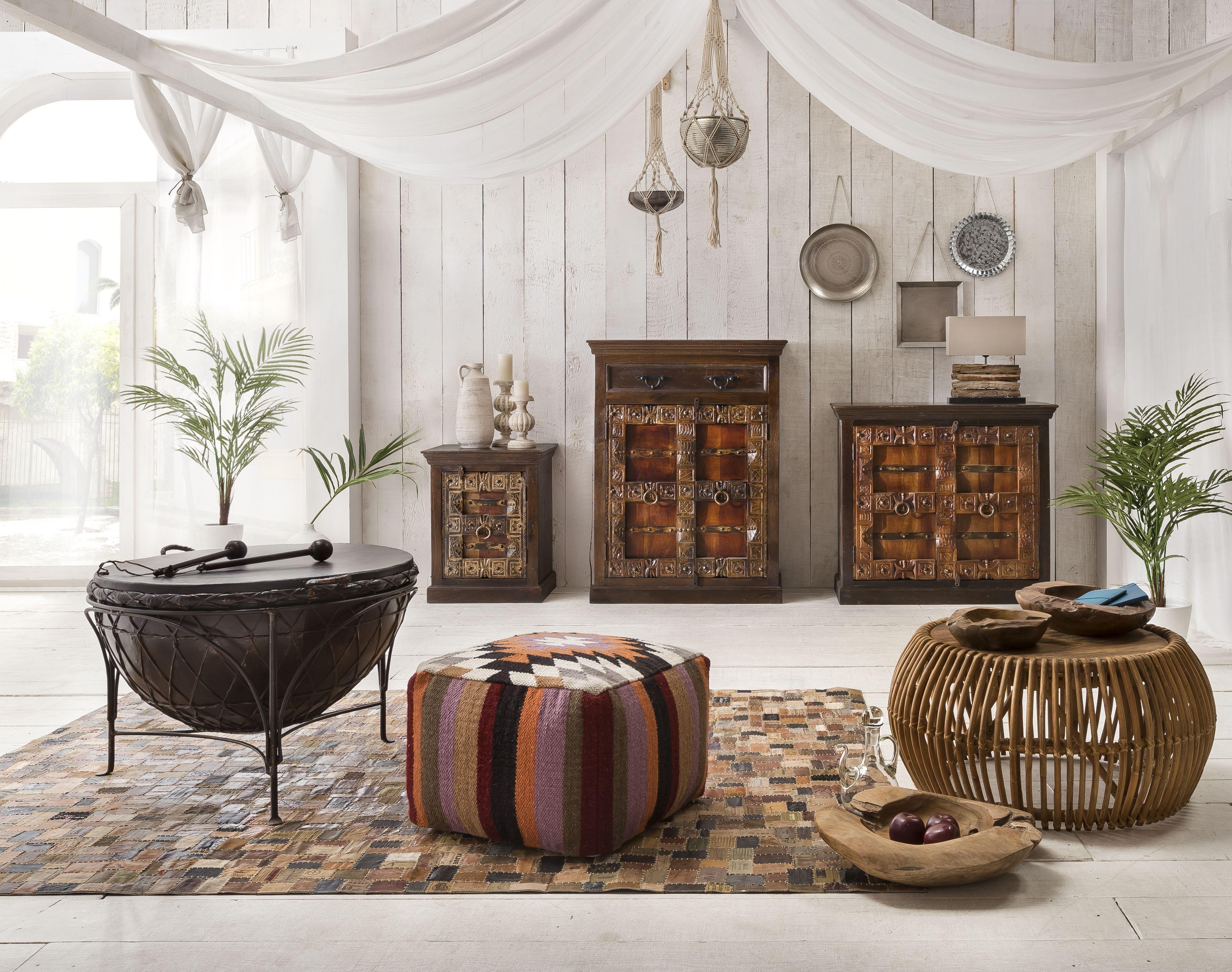 Sit Schrank Almirah aus recyceltem Holz 2-türig