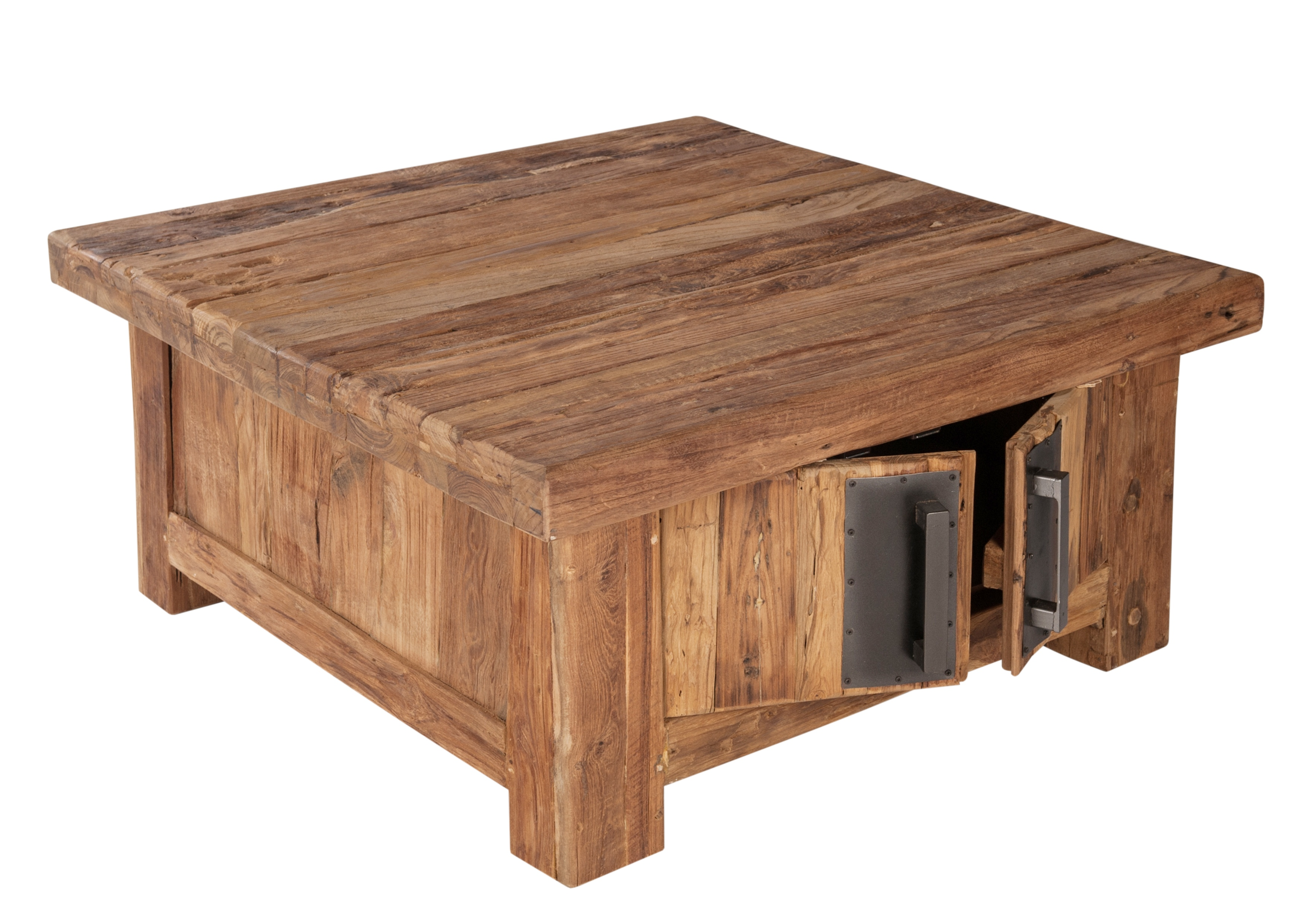 Sit Couchtischtruhe Teakholz Coral mit Türen