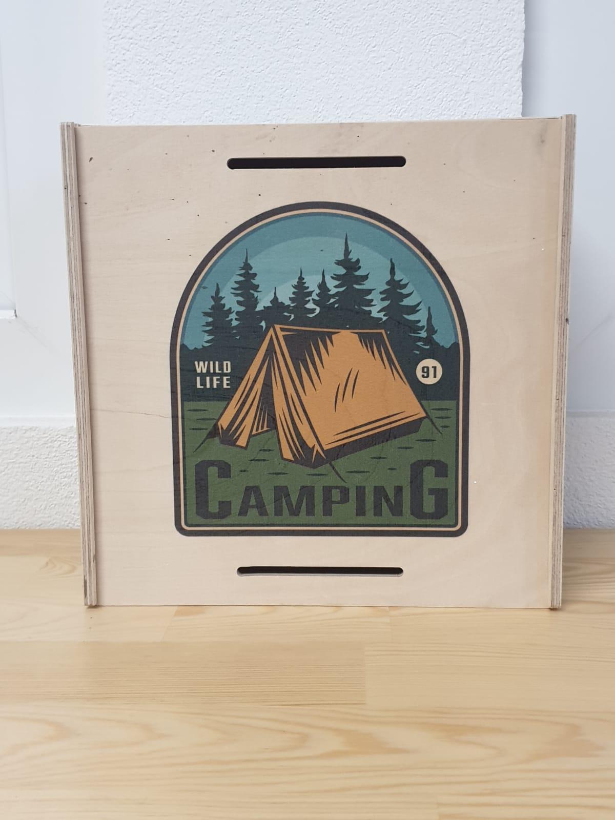 Kinder Aufbewahrungsbox Camping