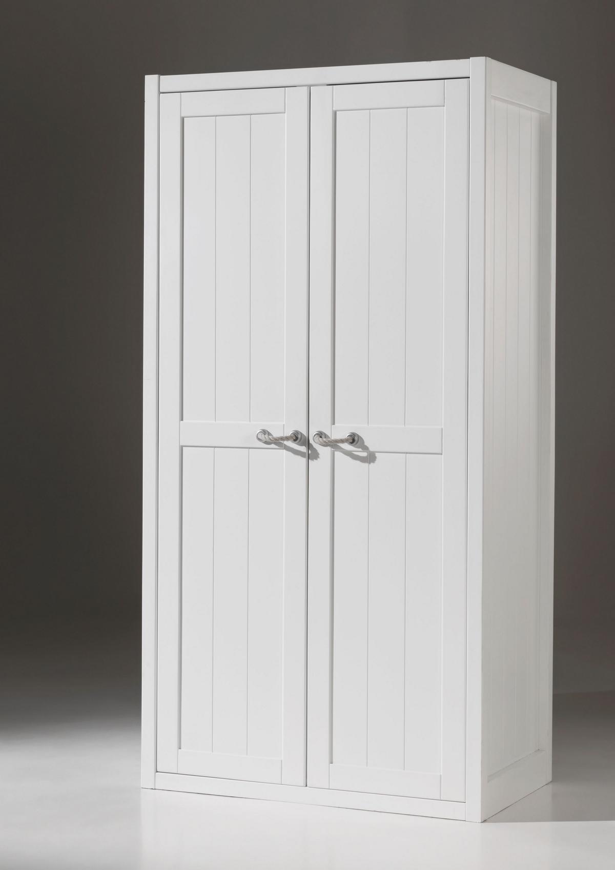 Kleiderschrank Iny 2- türig in Weiß