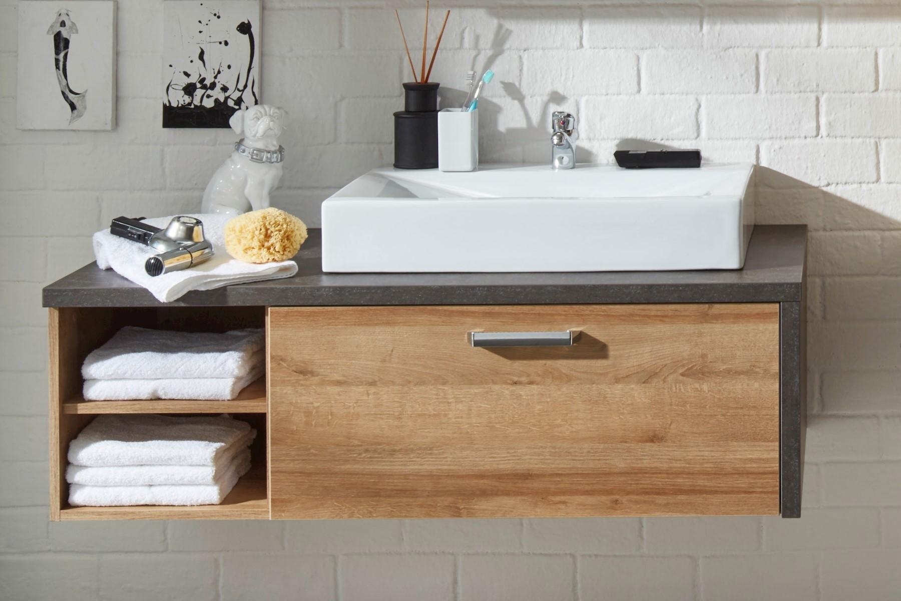 Waschbeckenunterschrank Roney mit Waschbecken