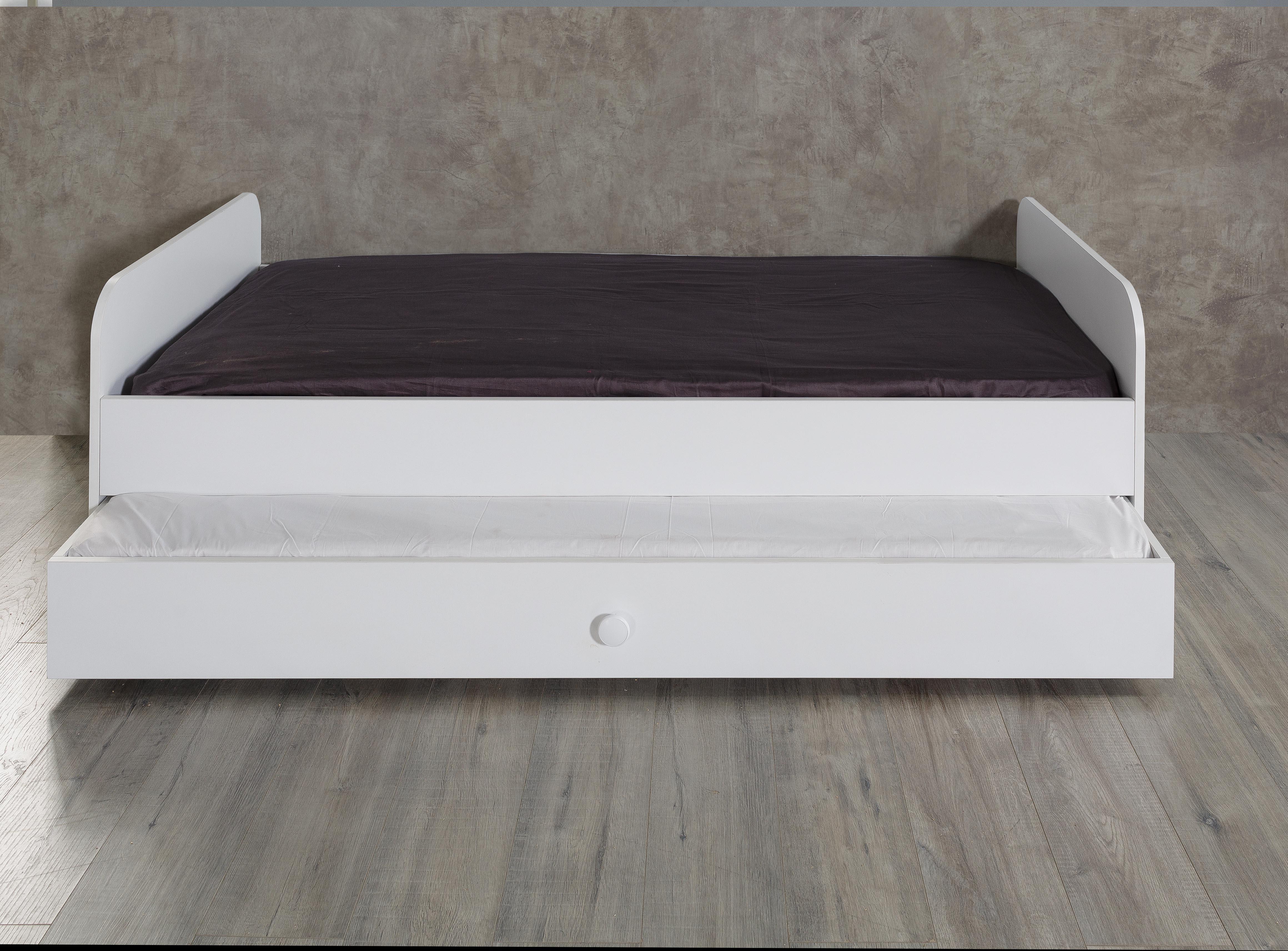 Titi Jugendbett inklusive Ausziehbett Puzzle 90x190 cm