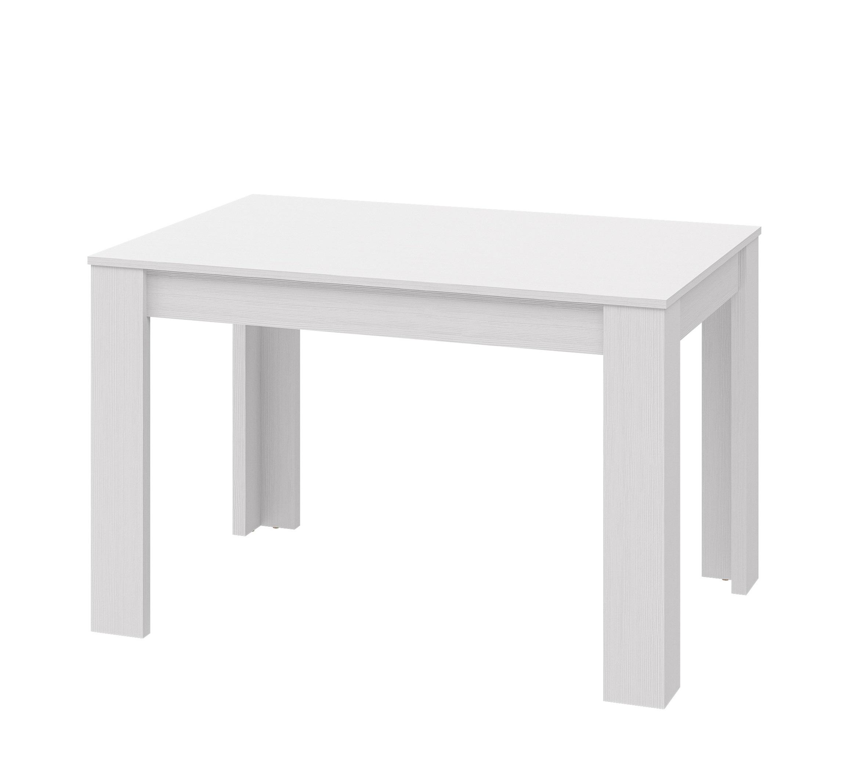 Neman Esstisch mit Ausziehfunktion Palermo Weiß