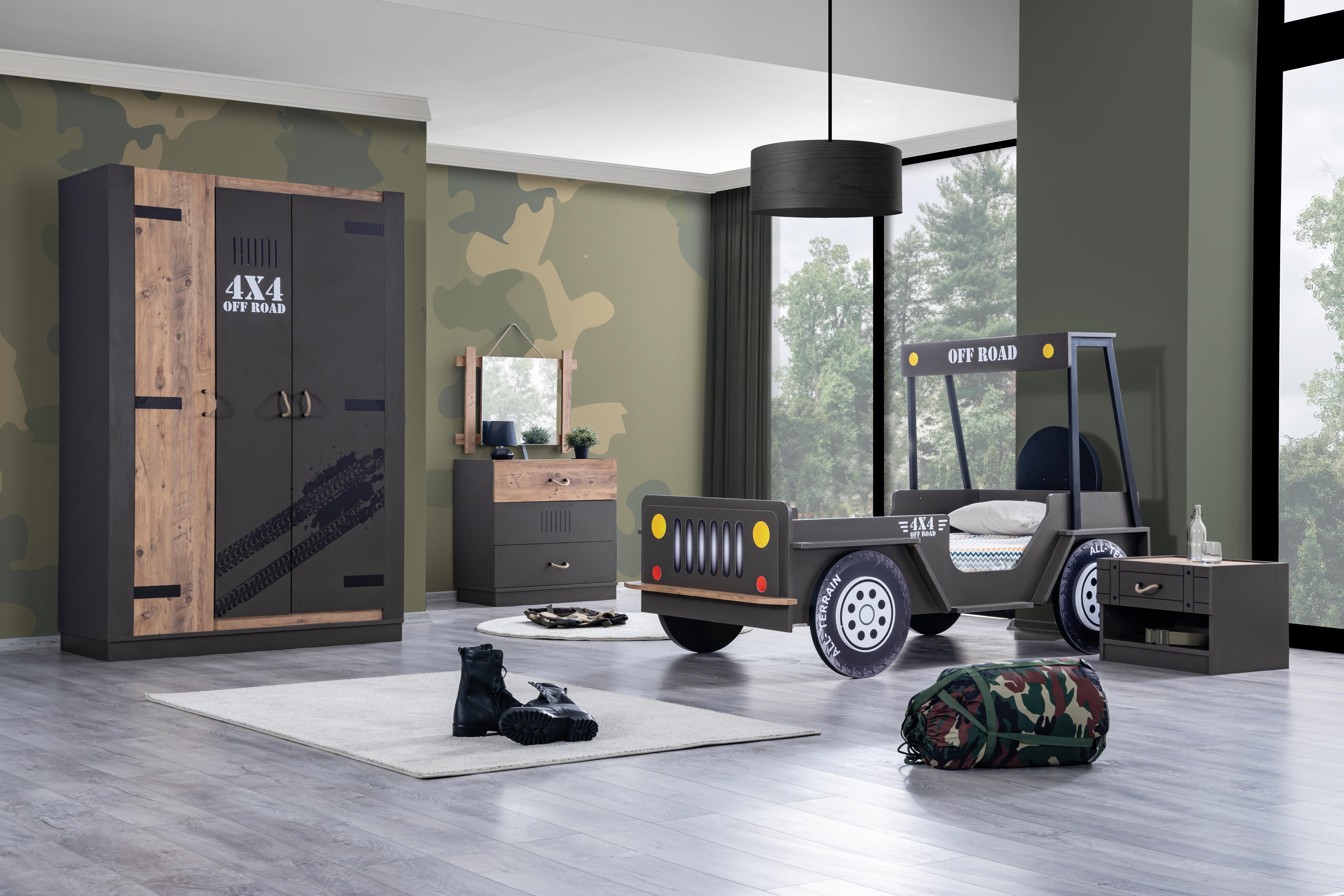Odacix Kinderzimmer Set Off Road Jeep