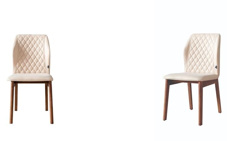 Weltew Stühle 2-er Set Esszimmer Vega Braun