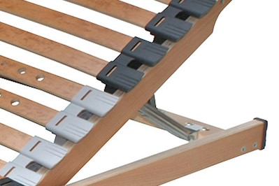 7 Zonen Lattenrost Rolly Kopf- und Fußteil verstellbar 140x200cm