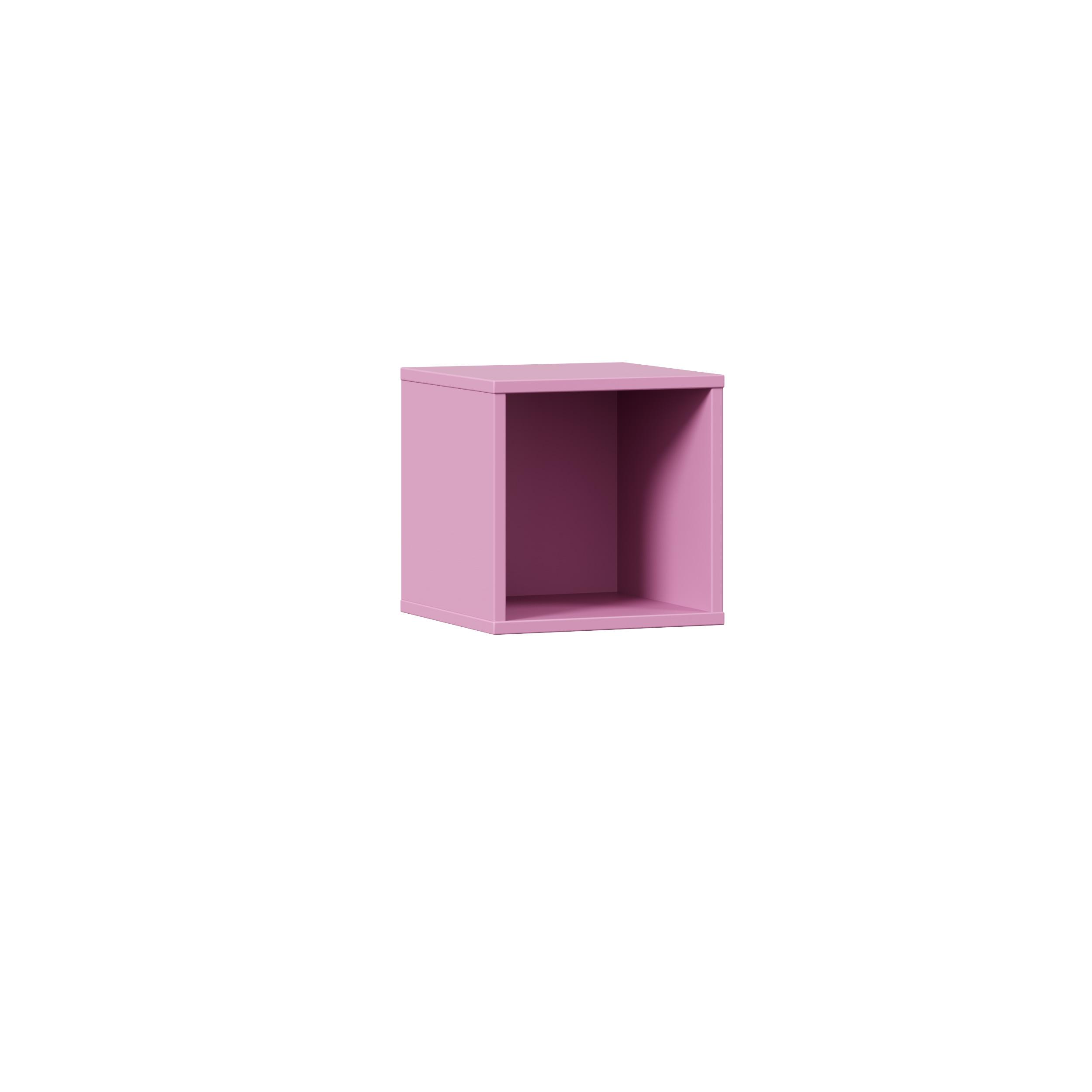 Lubidom quadratisches Wandregal Urban in Pink