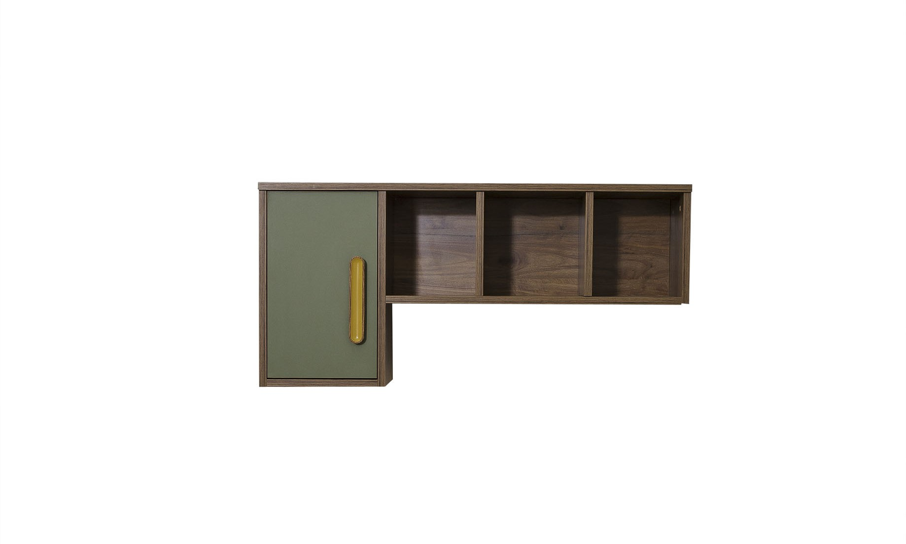 Titi Schreibtischaufsatz Wandregal Trendy in Holzoptik
