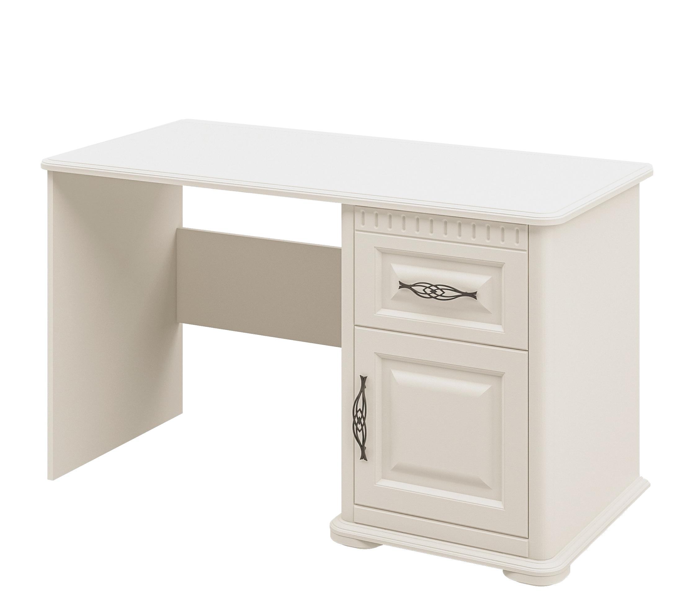 Neman Schreibtisch mit Schublade Marcel in Creme